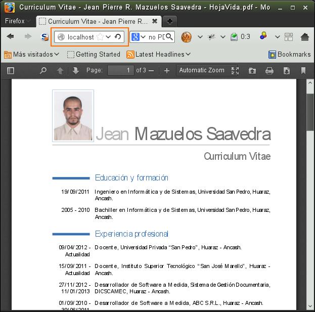 Visualizar archivos PDF directamente desde el navegador con PDF.js y ...