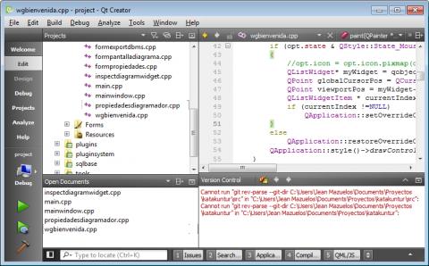 Qt Creator - Qt5.6 Windows