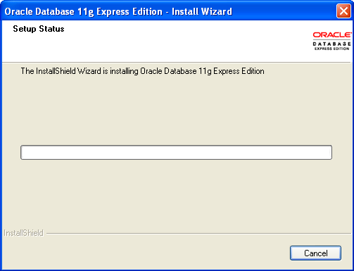 how to create database in oracle 11g express edition