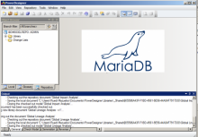 Power Designer repository with MariaDB